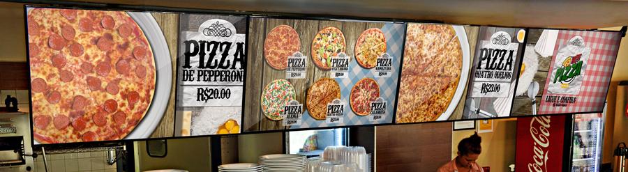 Veja como instalar o Menu Board Digital