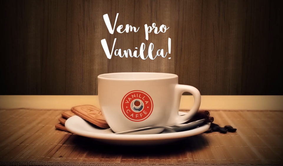 Assista o conteúdo do Menu Board Digital no Vanilla Café