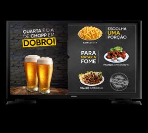 Business TV em tela cheia